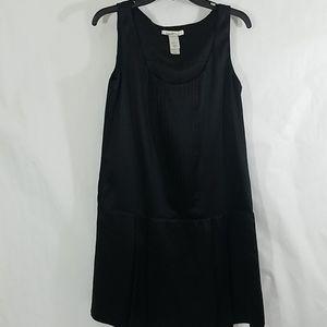 Laundry by Design Black Silk Pleated Dress